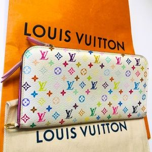 LOUIS VUITTON Multicolor Insolite Zippy Wallet